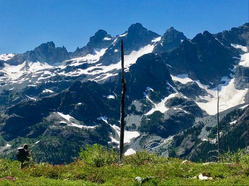 alpine lakes view
